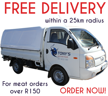 Tony's Meat Market - Free Delivery